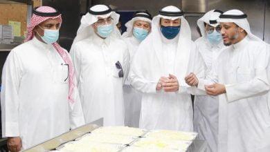 أسرة هيئة الصحفيين بالأحساء تشارك في تفطير الصائمين وتتجول في مبنى جمعية الصالحية_الديرة نيوز