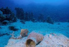 مصر: اكتشاف مقدمة سفينة غارقة في البحر الأحمر منذ القرن الـ18_الديرة نيوز