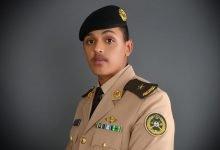 سعود الدوسرييتلقى التهاني بتخرج أبنه برتبة ملازم