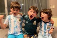 فرحة أبناء ميسي بعد تتويج الأرجنتين بكأس كوبا أمريكا (فيديو)