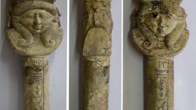 المجلس الأعلى للآثار المصرية يعلن اكتشاف بعض الأدوات الفرعونية المستخدمة بالطقوس الدينية